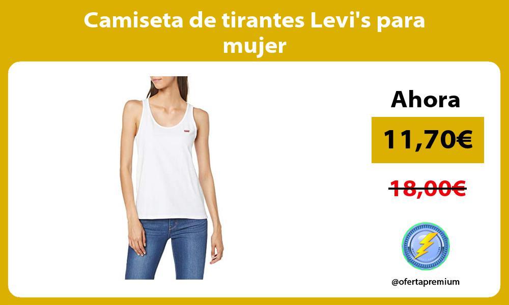 Camiseta de tirantes Levis para mujer
