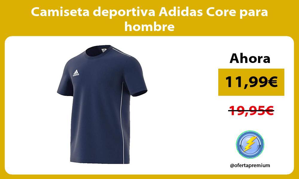 Camiseta deportiva Adidas Core para hombre