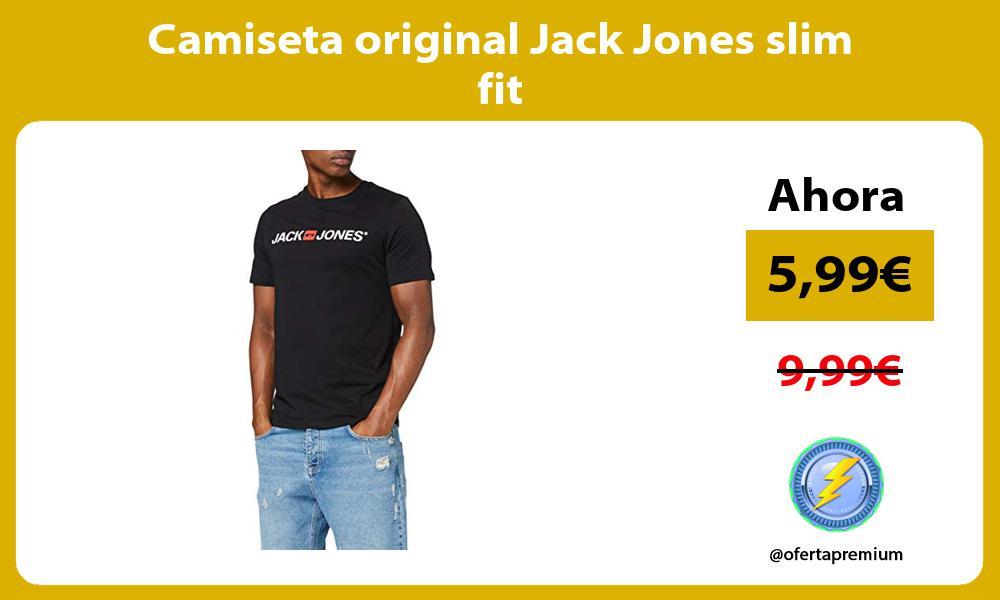 Camiseta original Jack Jones slim fit