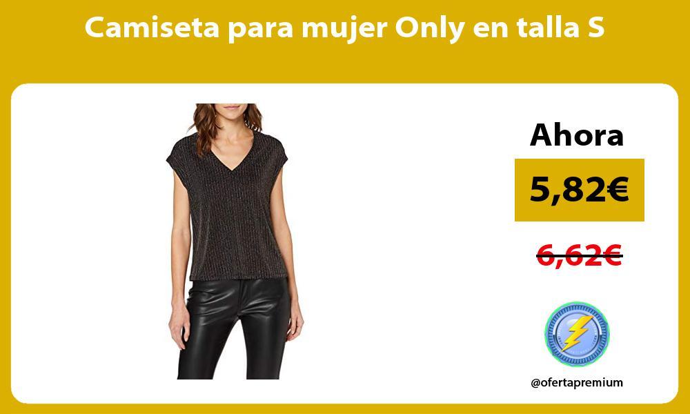 Camiseta para mujer Only en talla S