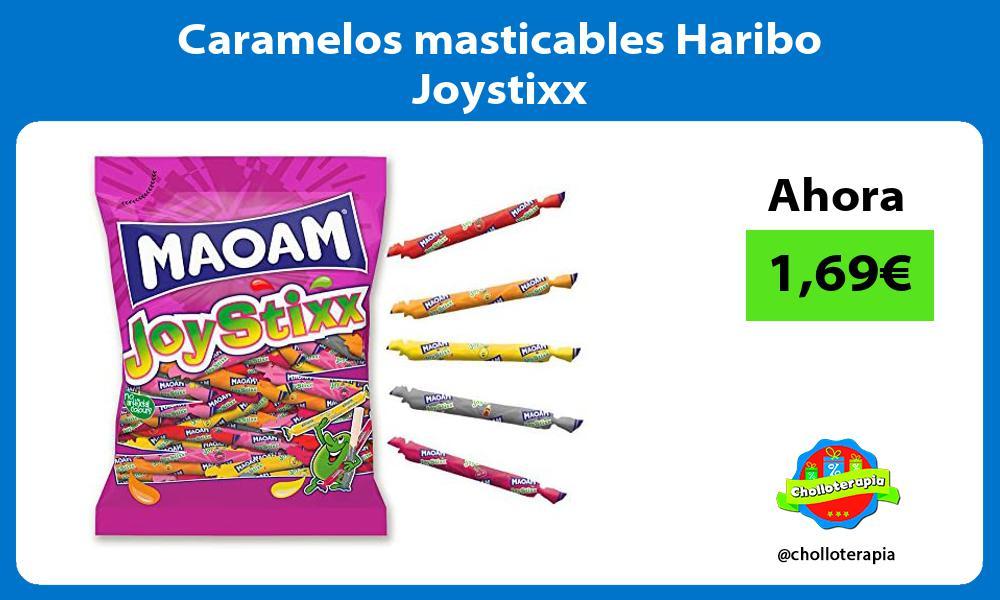 Caramelos masticables Haribo Joystixx