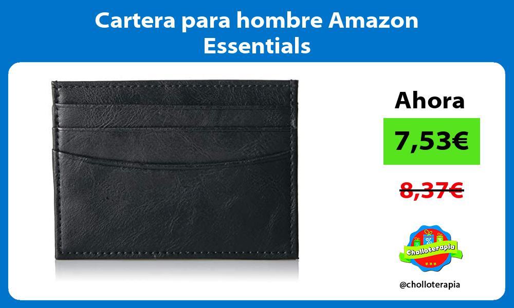 Cartera para hombre Amazon Essentials
