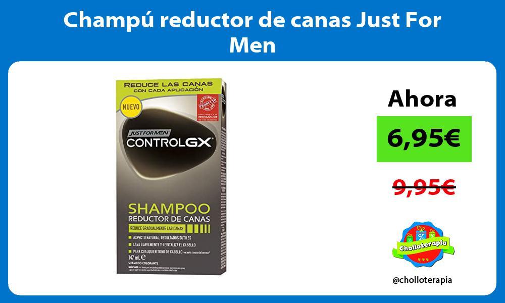 Champú reductor de canas Just For Men
