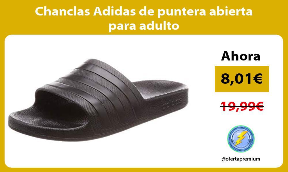 Chanclas Adidas de puntera abierta para adulto