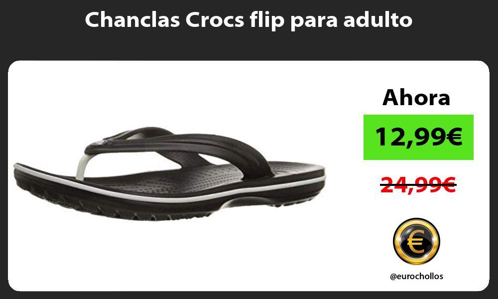 Chanclas Crocs flip para adulto