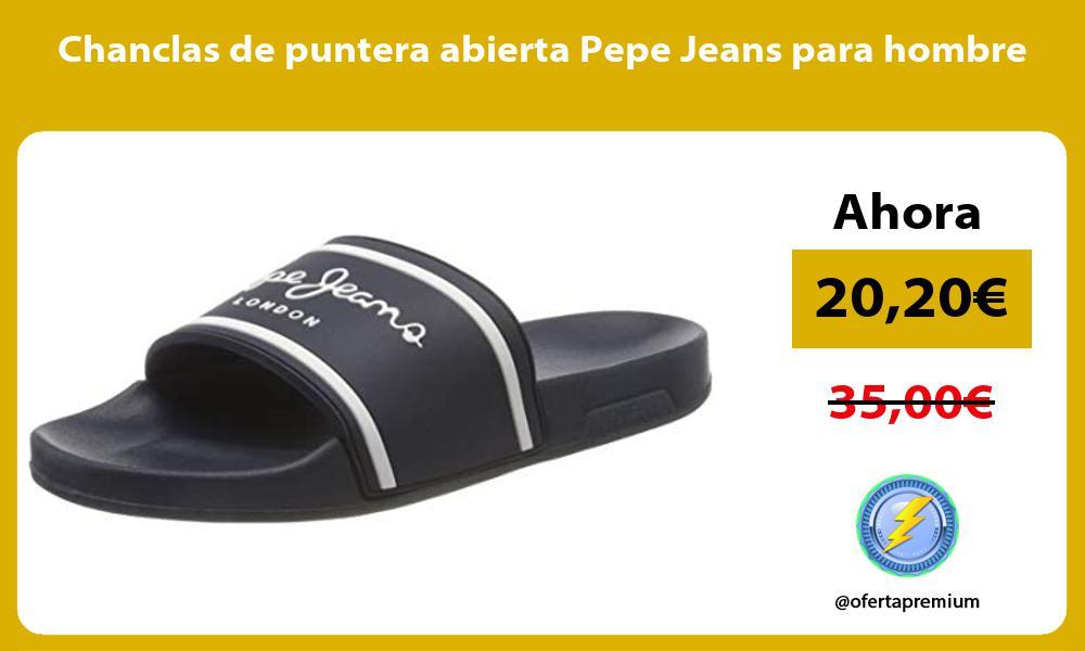 Chanclas de puntera abierta Pepe Jeans para hombre