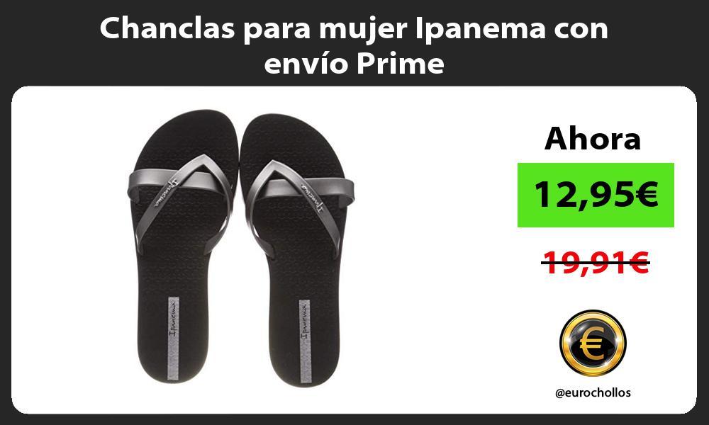 Chanclas para mujer Ipanema con envío Prime