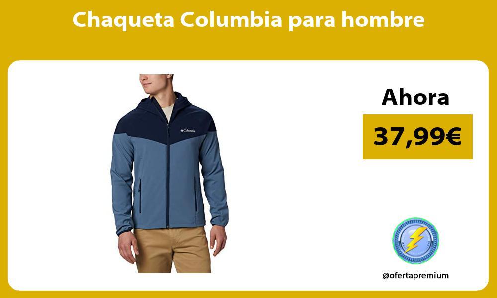 Chaqueta Columbia para hombre