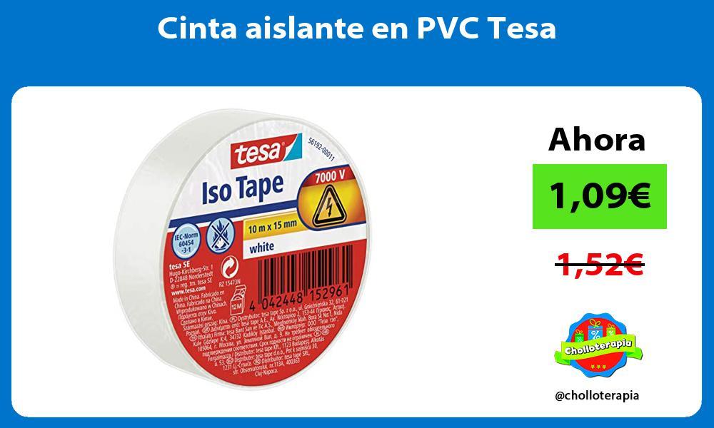 Cinta aislante en PVC Tesa