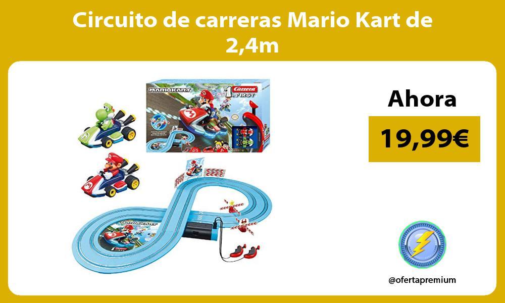 Circuito de carreras Mario Kart de 24m