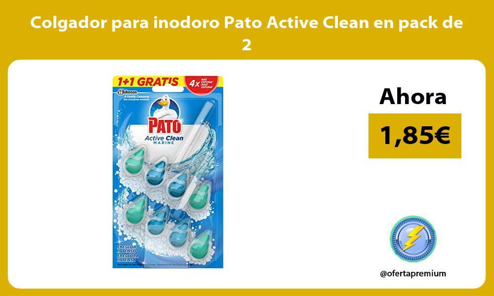 Colgador para inodoro Pato Active Clean en pack de 2