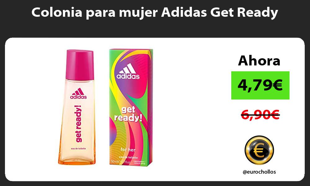 Colonia para mujer Adidas Get Ready