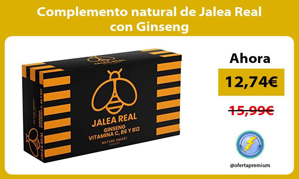 Complemento natural de Jalea Real con Ginseng