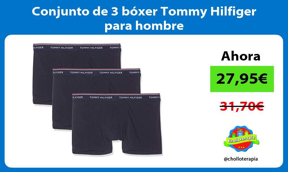 Conjunto de 3 bóxer Tommy Hilfiger para hombre
