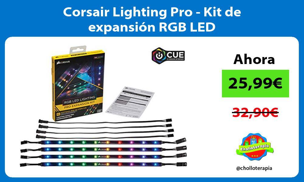 Corsair Lighting Pro Kit de expansión RGB LED