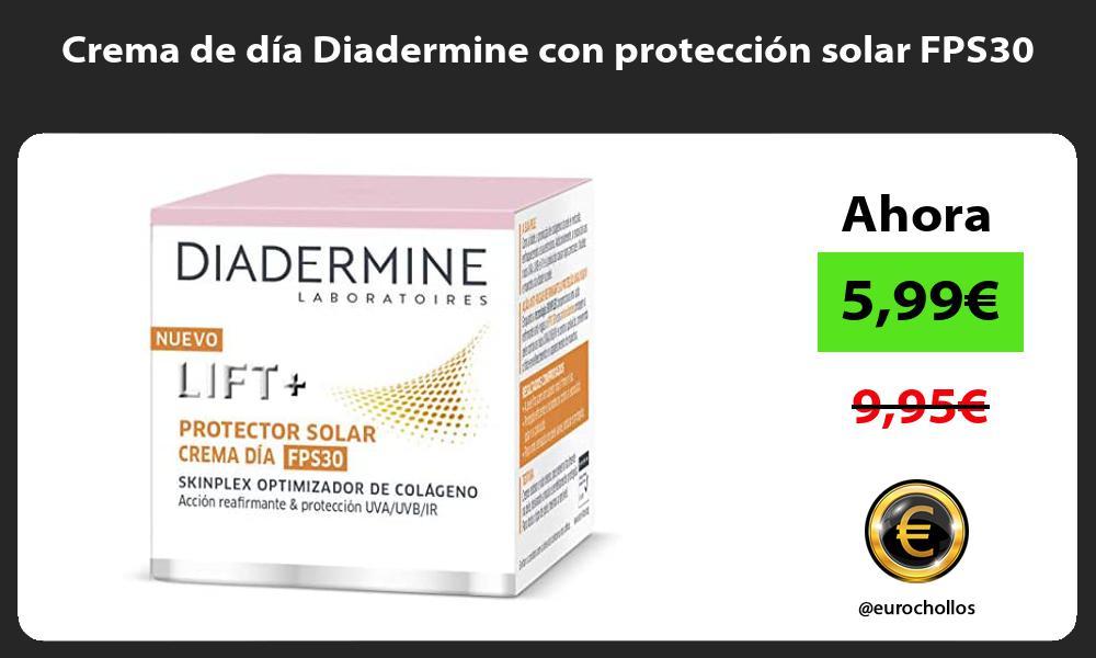 Crema de día Diadermine con protección solar FPS30