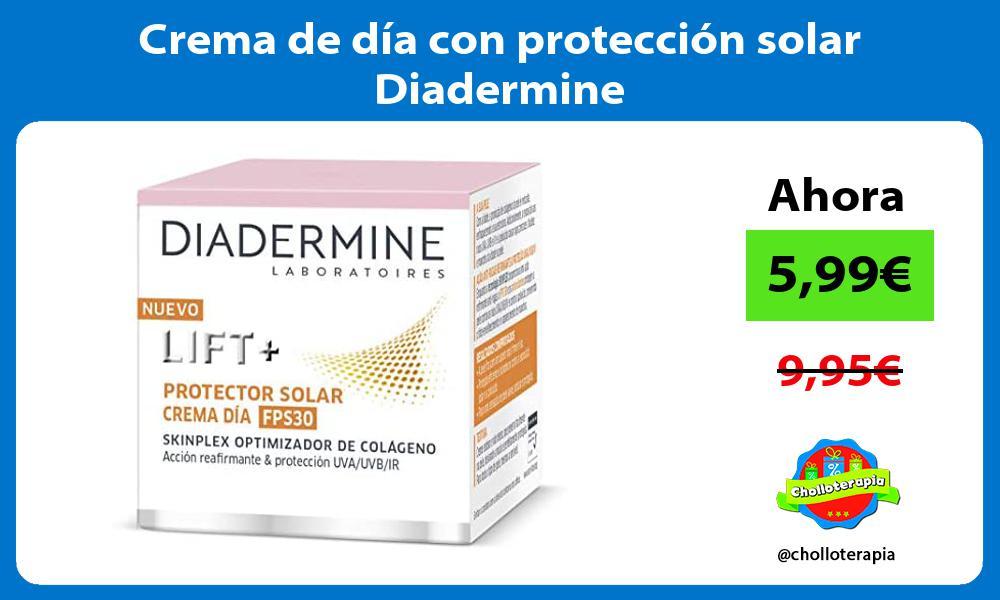 Crema de día con protección solar Diadermine