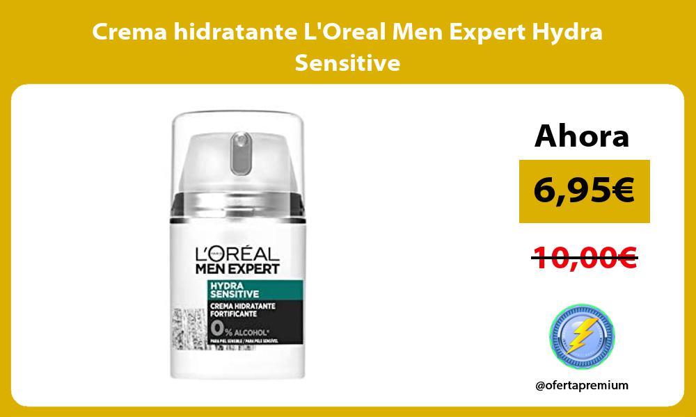 Crema hidratante LOreal Men Expert Hydra Sensitive