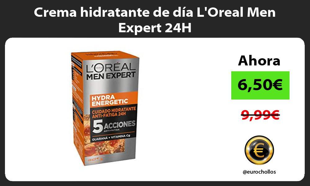 Crema hidratante de día LOreal Men Expert 24H