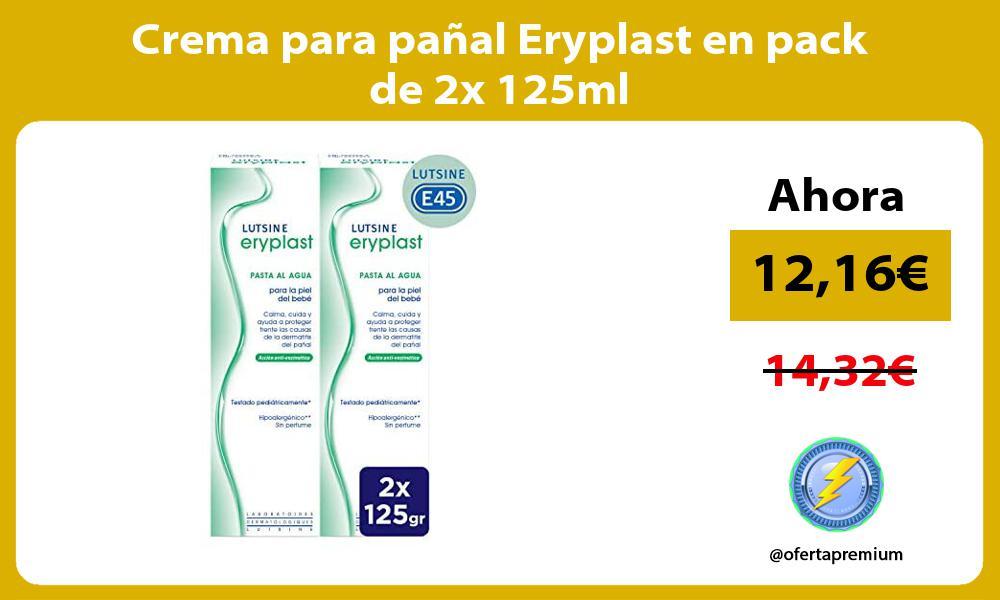 Crema para pañal Eryplast en pack de 2x 125ml