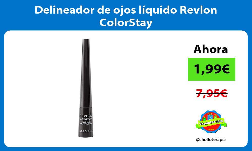 Delineador de ojos líquido Revlon ColorStay