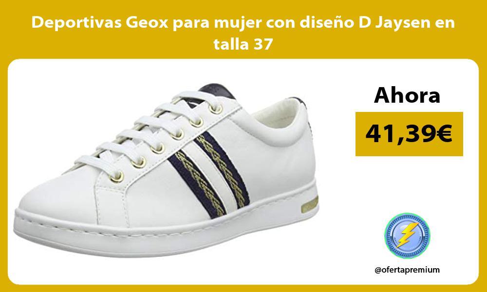 Deportivas Geox para mujer con diseño D Jaysen en talla 37
