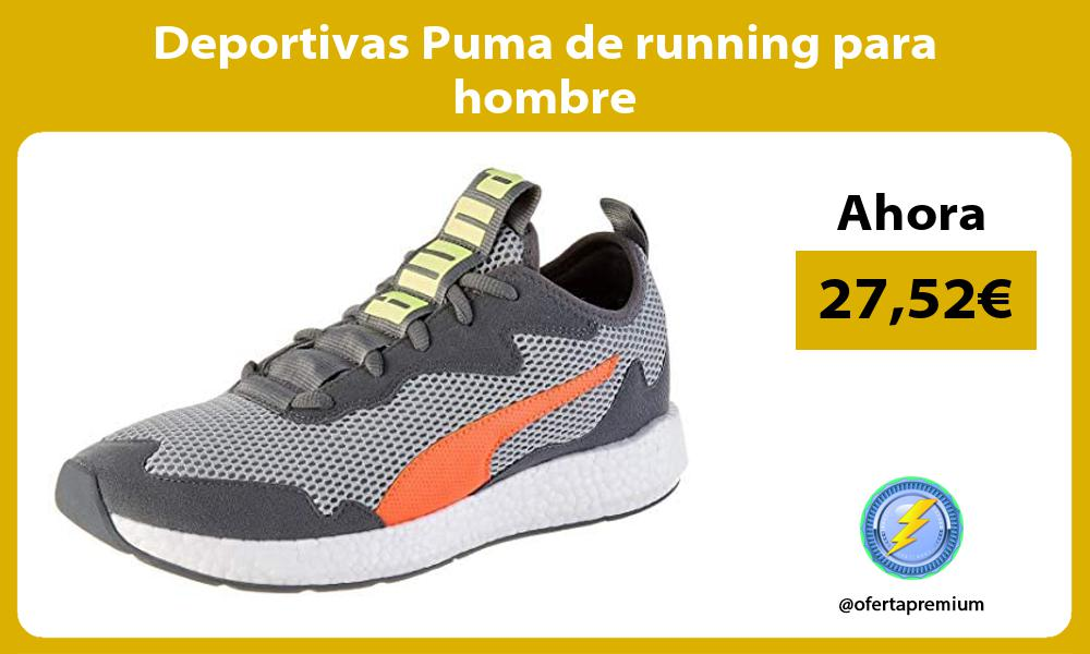 Deportivas Puma de running para hombre