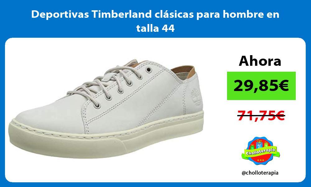 Deportivas Timberland clásicas para hombre en talla 44