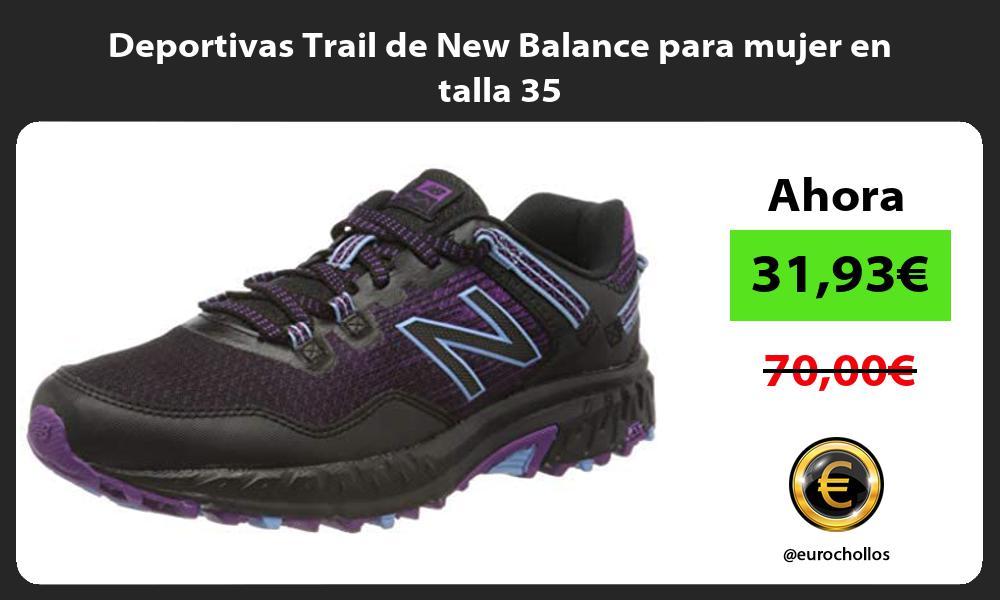 Deportivas Trail de New Balance para mujer en talla 35