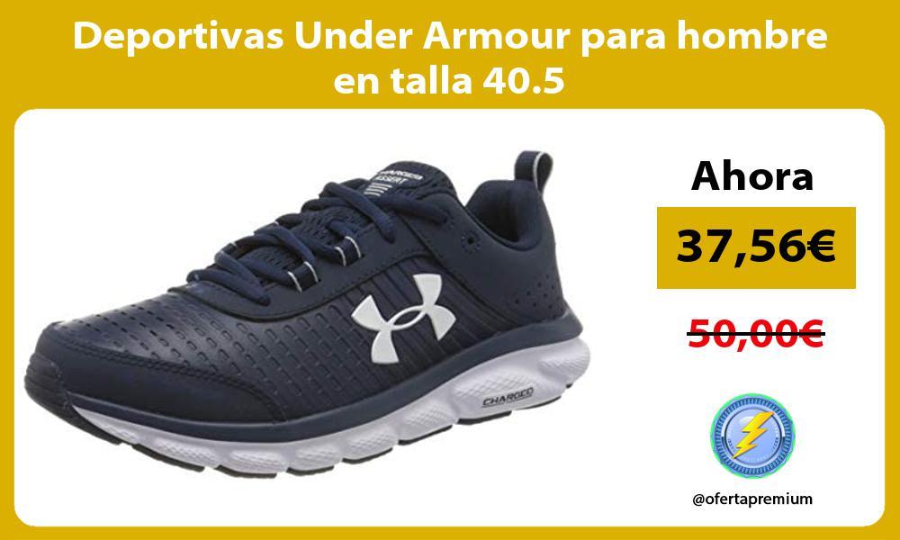 Deportivas Under Armour para hombre en talla 40 5