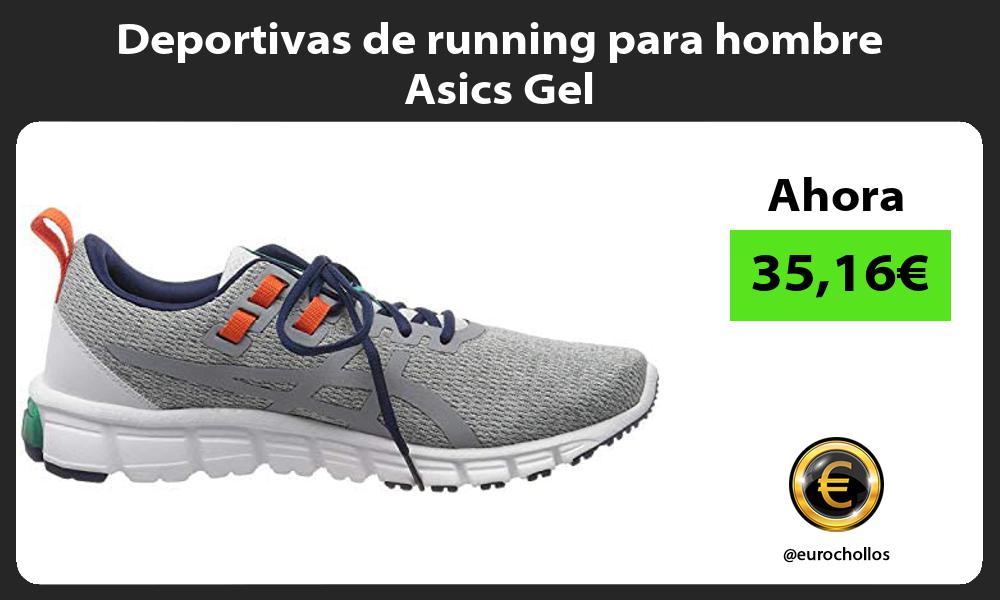 Deportivas de running para hombre Asics Gel