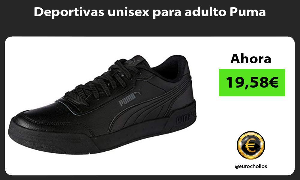 Deportivas unisex para adulto Puma