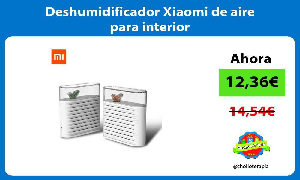 Deshumidificador Xiaomi de aire para interior
