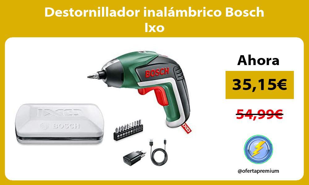 Destornillador inalámbrico Bosch Ixo