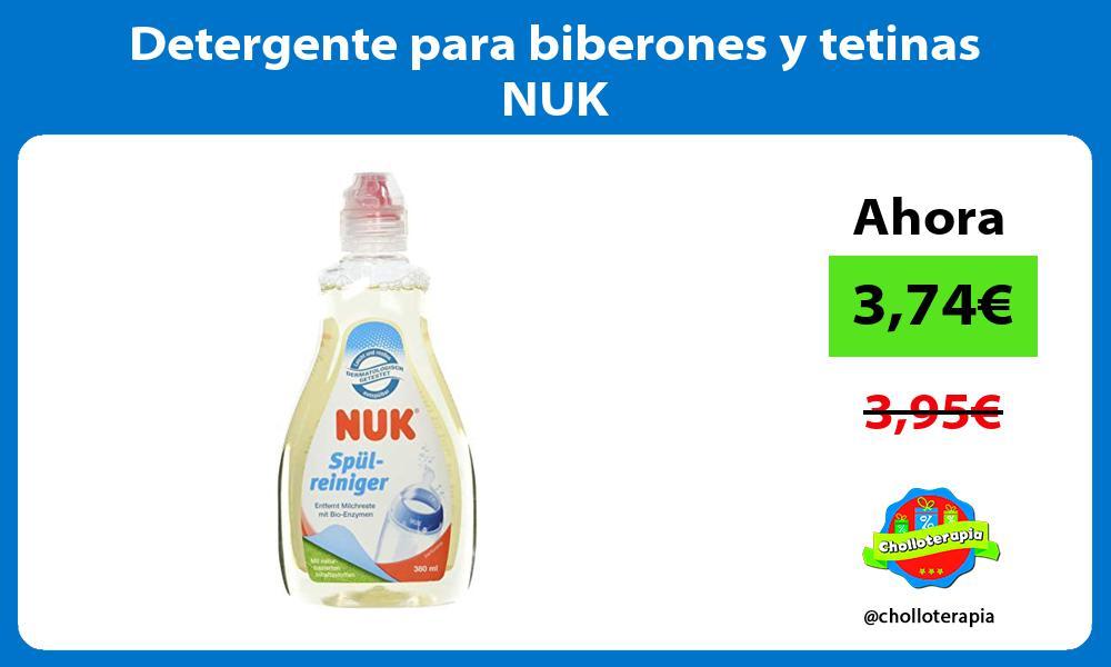 Detergente para biberones y tetinas NUK