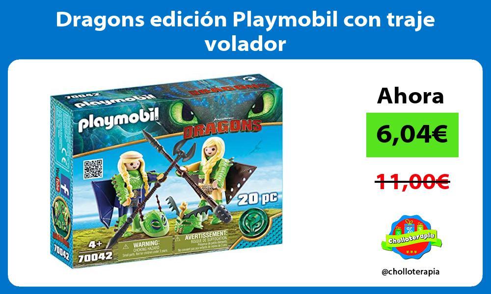 Dragons edición Playmobil con traje volador