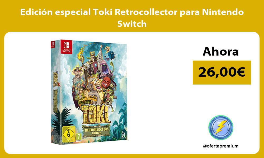 Edición especial Toki Retrocollector para Nintendo Switch