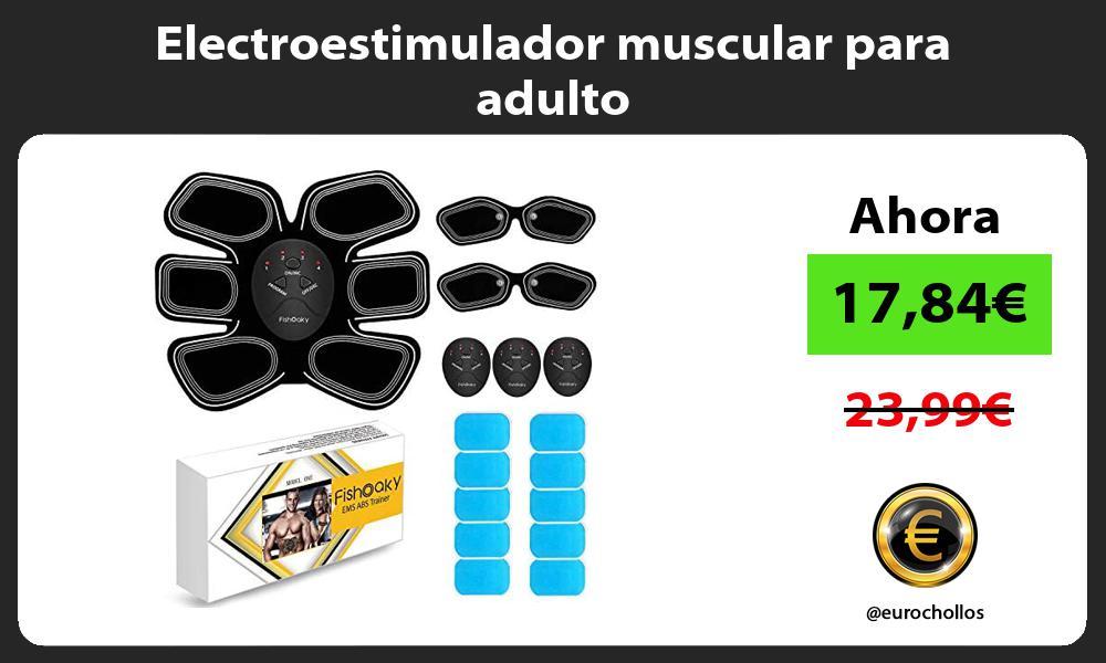 Electroestimulador muscular para adulto