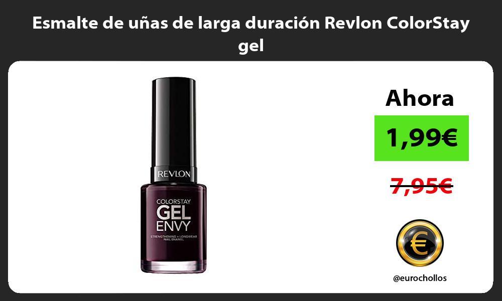 Esmalte de uñas de larga duración Revlon ColorStay gel
