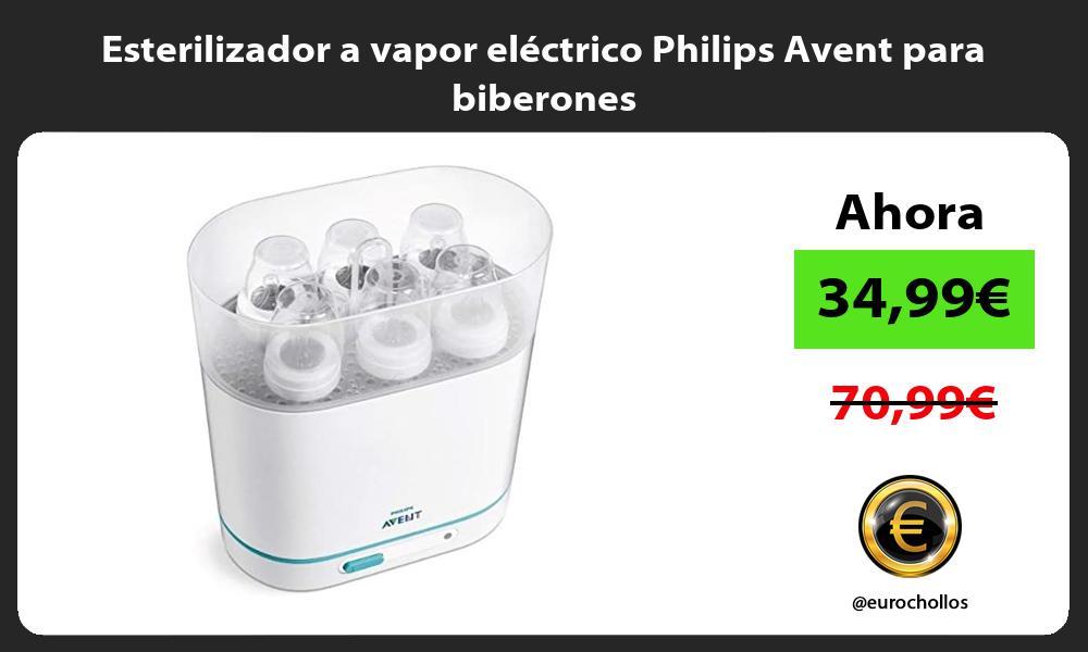 Esterilizador a vapor eléctrico Philips Avent para biberones