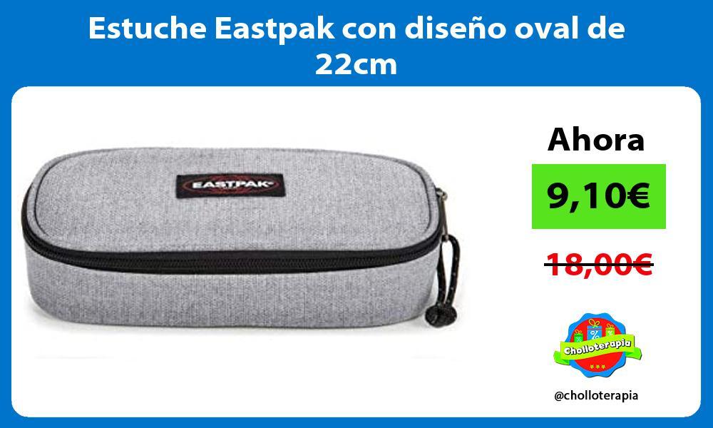 Estuche Eastpak con diseño oval de 22cm
