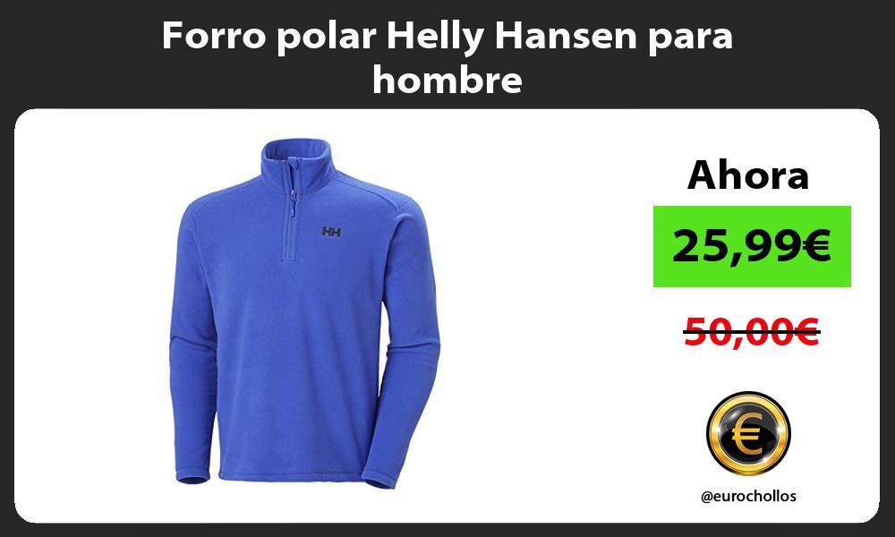 Forro polar Helly Hansen para hombre