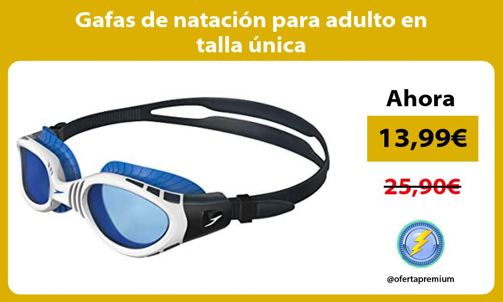 Gafas de natación para adulto en talla única