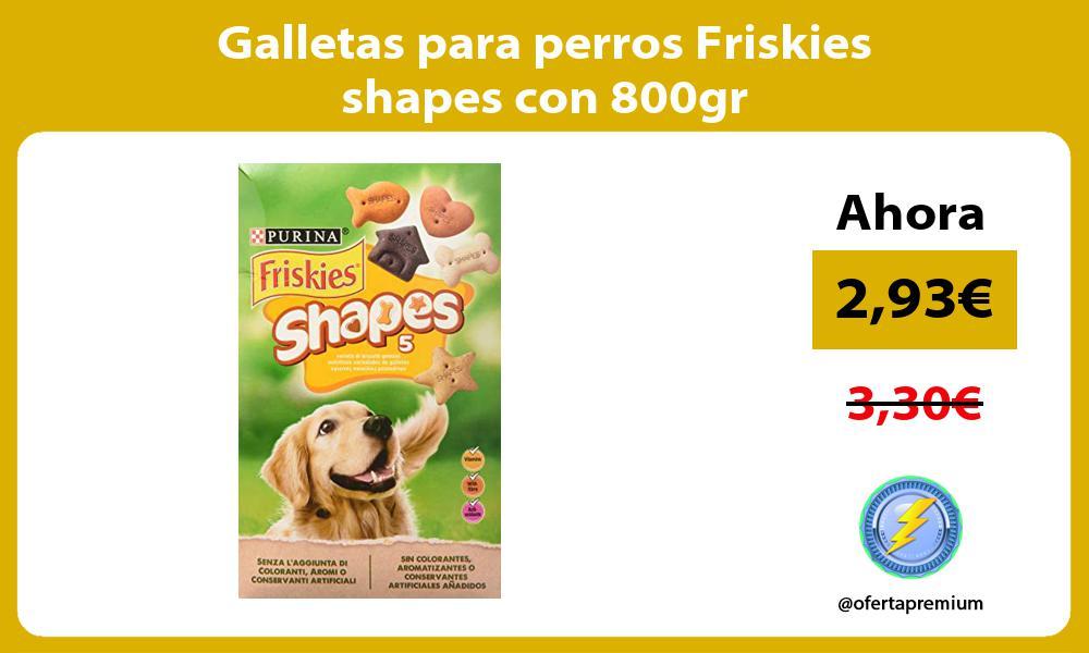 Galletas para perros Friskies shapes con 800gr