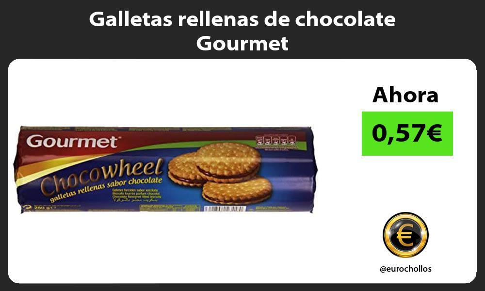 Galletas rellenas de chocolate Gourmet