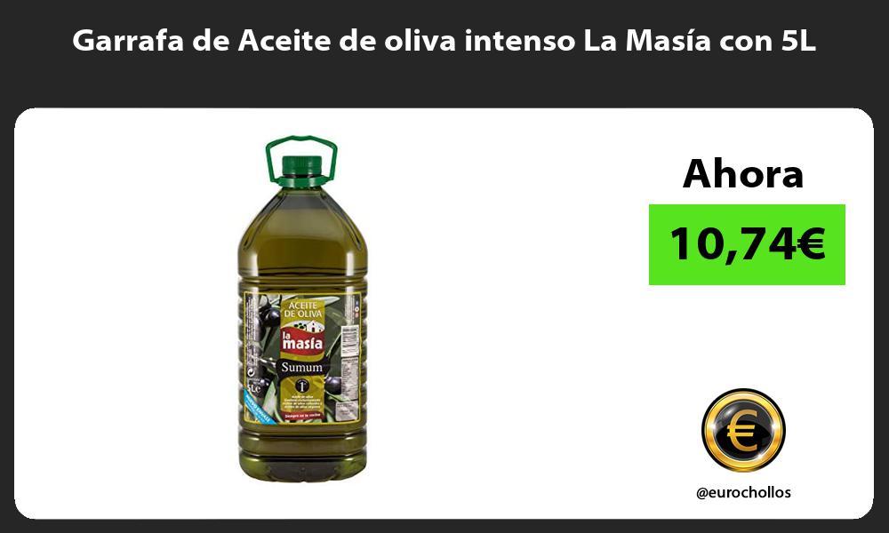 Garrafa de Aceite de oliva intenso La Masía con 5L