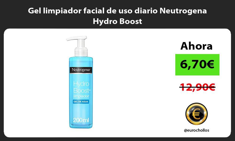 Gel limpiador facial de uso diario Neutrogena Hydro Boost