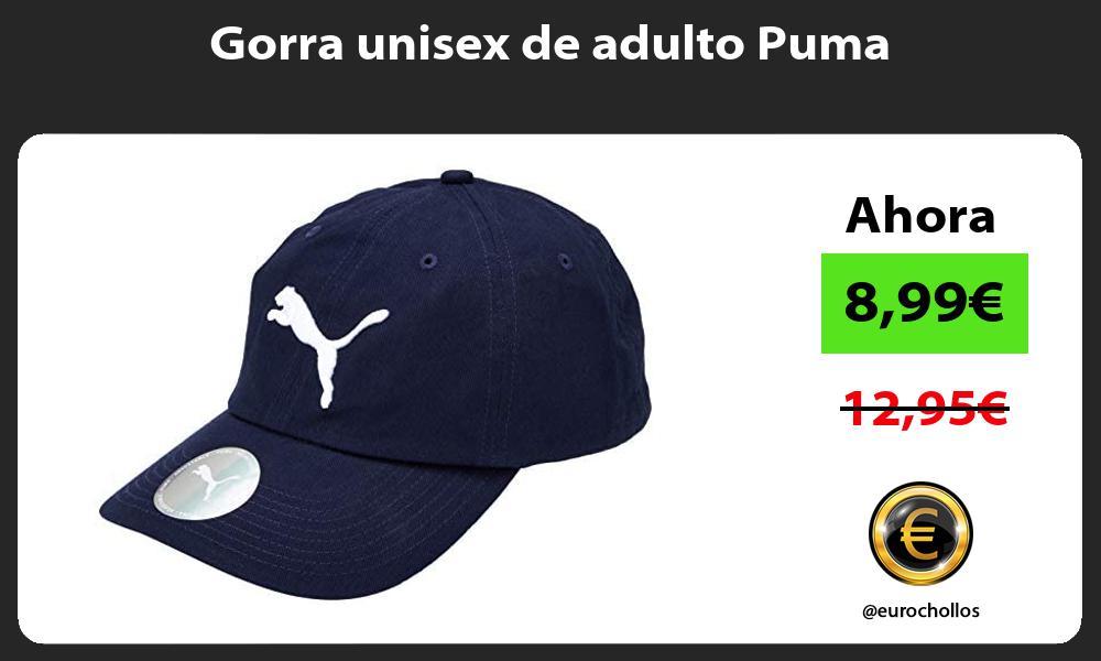 Gorra unisex de adulto Puma