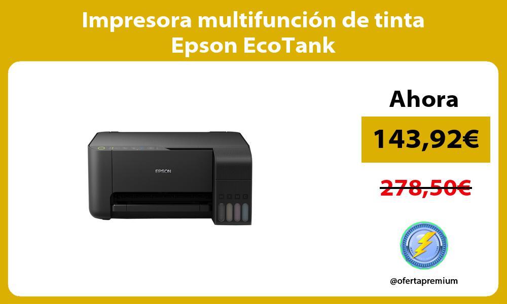 Impresora multifunción de tinta Epson EcoTank