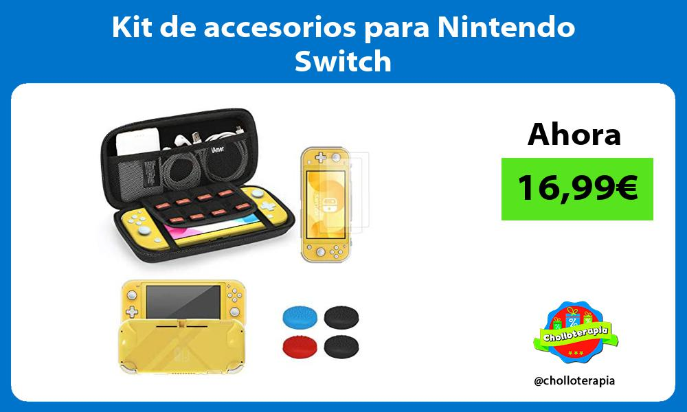 Kit de accesorios para Nintendo Switch